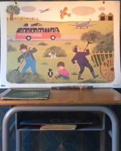 Affiche scolaire Fernand Nathan  -  Les enfants