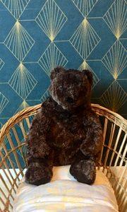 Ours en peluche  -  Le tissus