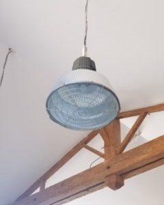 Luminaire industriel  -  La décoration