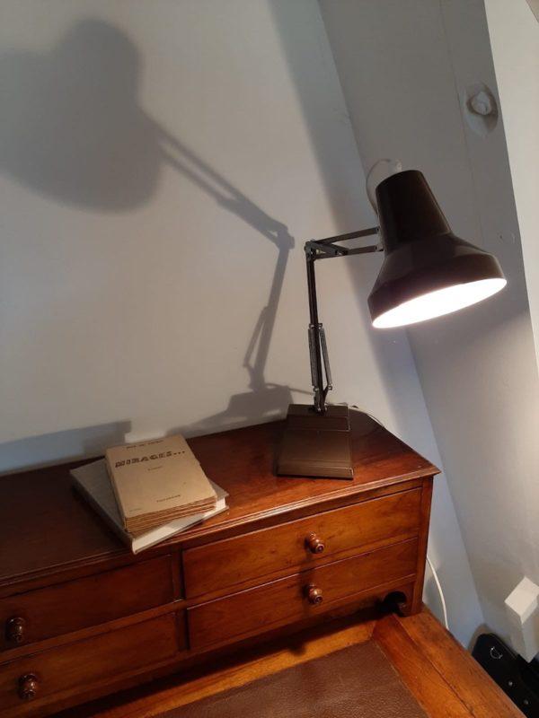 Lampe d'architecte Ledu  -  Le métal