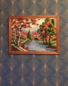 Tableau en canevas  -  La maison