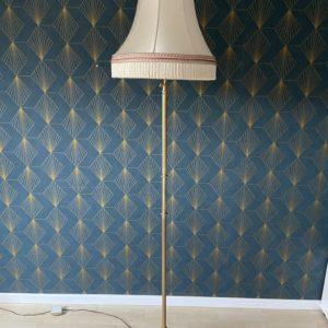 Lampe sur pied vintage  -  L'éclairage