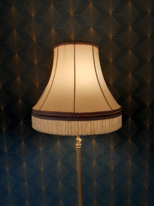 Abat jour vintage  -  L'éclairage