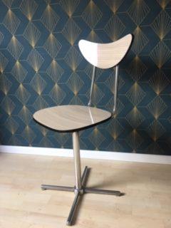 Chaise chaise Formica pivotante