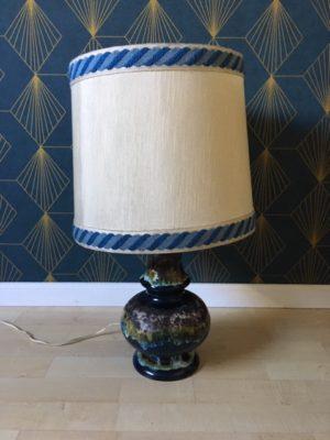 Lampe Lampe à poser w. germany bleue