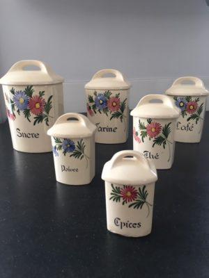 Pot X 6 pots à épices
