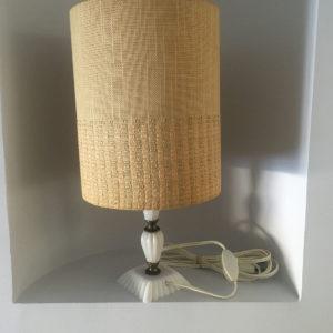 Lampe sur pied  -  La faience - porcelaine - céramique