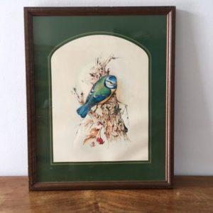 Cadre motifs oiseaux  -  La maison