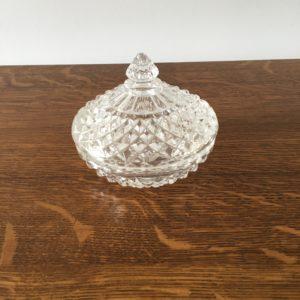 Bonbonnière cristal d'Arques  -  La maison
