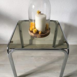 Table basse / bout de canapé  -  La décoration