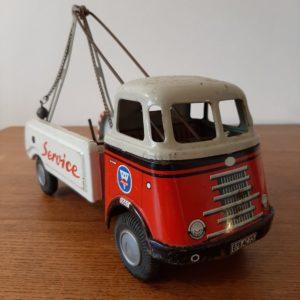 Ancien jouet camion dépanneur  -  Le métal