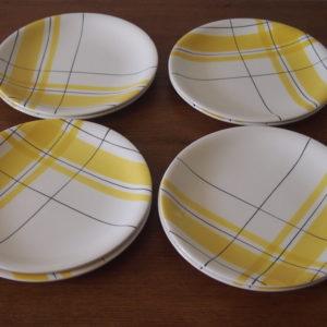 Assiettes plates Salins  -  La décoration