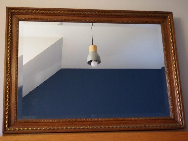 Ancien miroir rectangle  -  La décoration