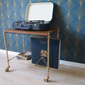 Range disques Années 70  -  La décoration