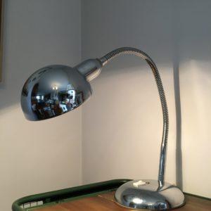 Lampe de bureau chromée  -  L'éclairage