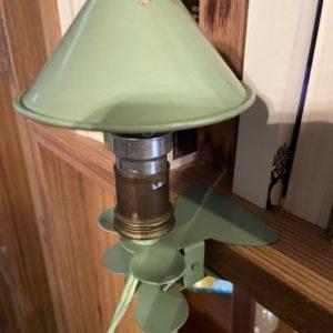 Lampe à pincer  -  L'éclairage