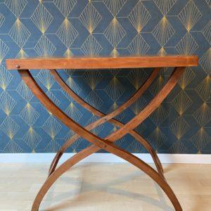 Table en bois pliante  -  La maison