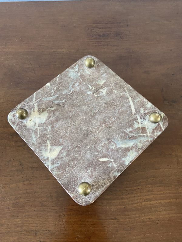 Dessous de plat en marbre  -  La décoration