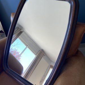 Miroir ancien en bois  -  La décoration