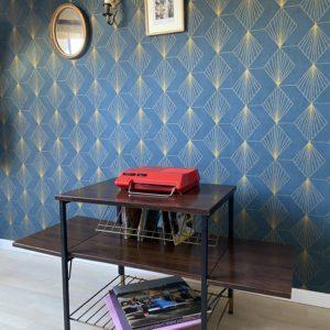 Table basse pour platine vinyle  -  La décoration