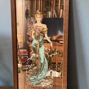 Miroir tableau Mucha  -  La décoration