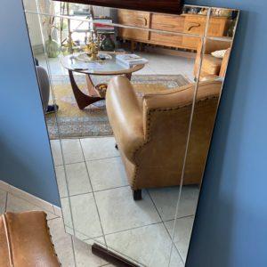Grand miroir ancien ciselé  -  La décoration
