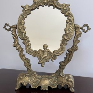 Ancien miroir psyché  -  La décoration
