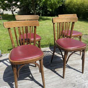 Ancienne chaise bistrot  -  La maison